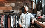Damon Capetz, co-owner of Atmosfere boutique in Minneapolis