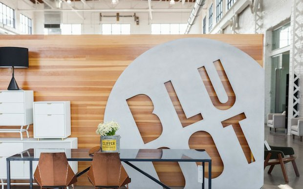 Interior of Blu Dot Outlet in Northeast, Minneapolis, MN