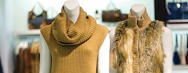 Fur clothing at Michael Kors