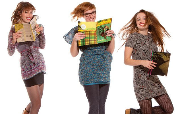The ladies behind Paper Darts magazine