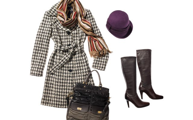 Stylish winter outerwear for women