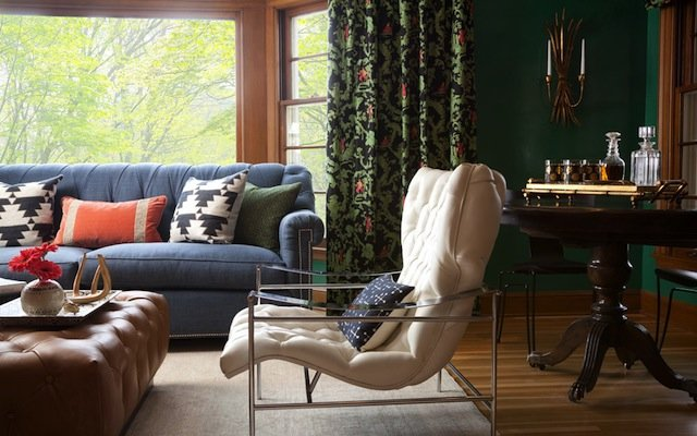 2014 ASID Showcase living room.