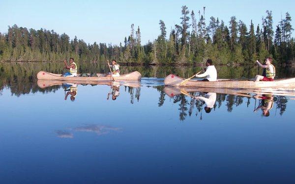 Urban Boatbuilder's canoe-building classes