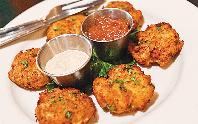 Caribe Café conch fritters