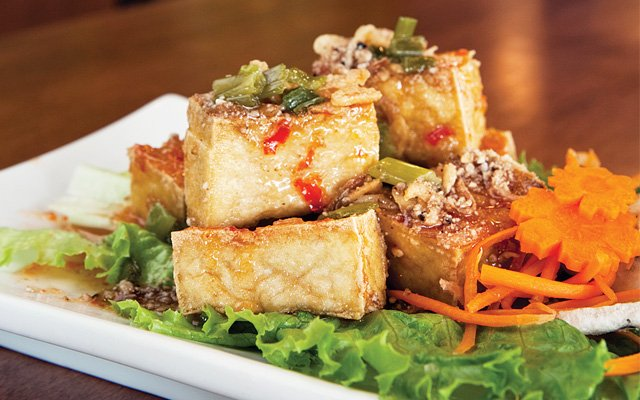 Tofu puffs from Rice Paper