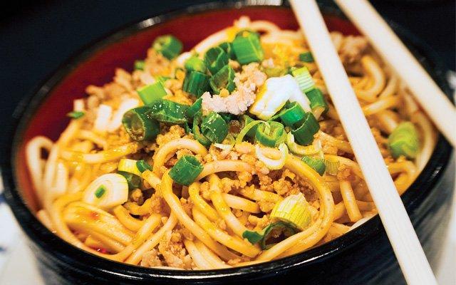 Dan dan noodles from Grand Szechuan