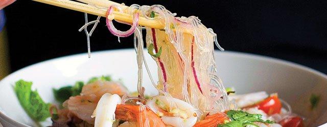 Yum sen street noodles from Kinsen Noodles & Bar