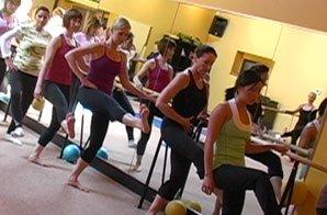 behind bars pilates class