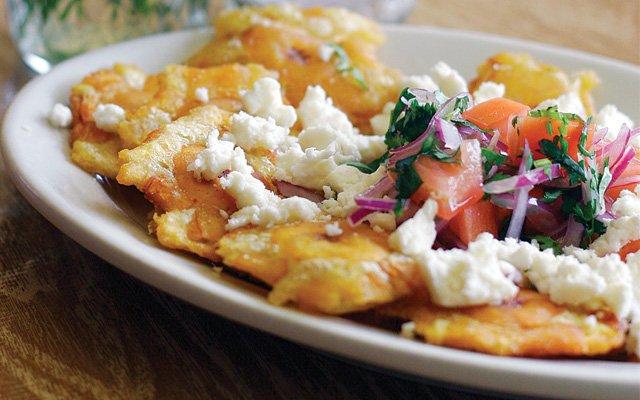 Twice Fried Plantains from Chimborazo