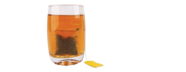 Hot Gin-Spiked tea
