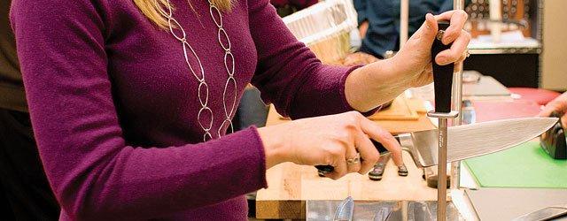 Knife sharpening and care at Eversharp Knives