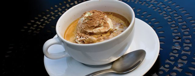 One Great Plate: Affogato at Crema Cafe