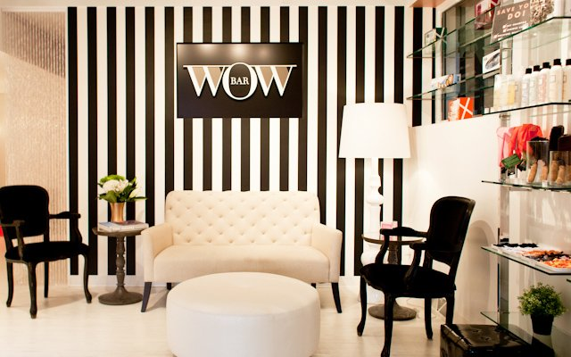 Interior of The Wow Bar in Edina, Minnesota