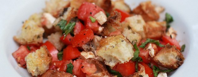 One Great Plate:  Panzanella