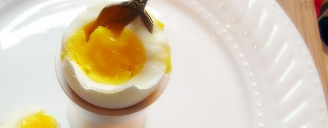 One Great Plate: Soft-Boiled Eggs