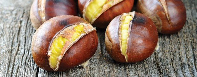 One Great Plate:  Roasted Chestnuts