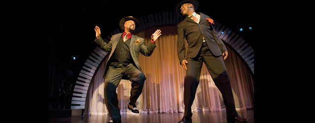 T. Mychael Rambo (left) and J.D. Steele join musical forces again in SPUNK.