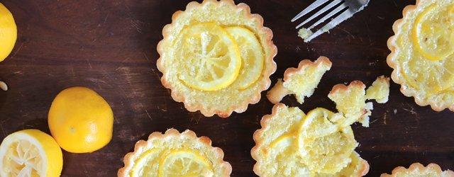 Salty Tart Meyer Lemon Shaker Pies
