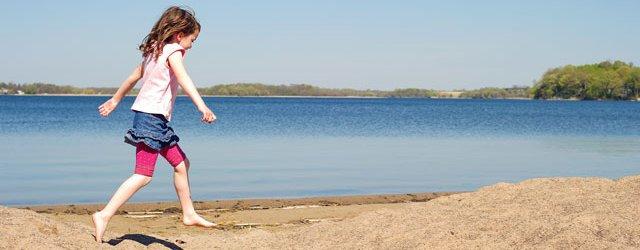 Bryant Lake's Sandy Beach