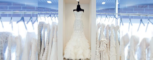 Interior of Bridal Accents Couture in Burnsville
