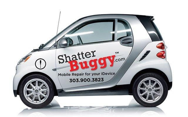 branded smart car