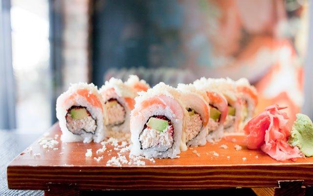 Sushi rolls from Sushi Fix in Wayzata, Minnesota / Photo by Katherine Harris
