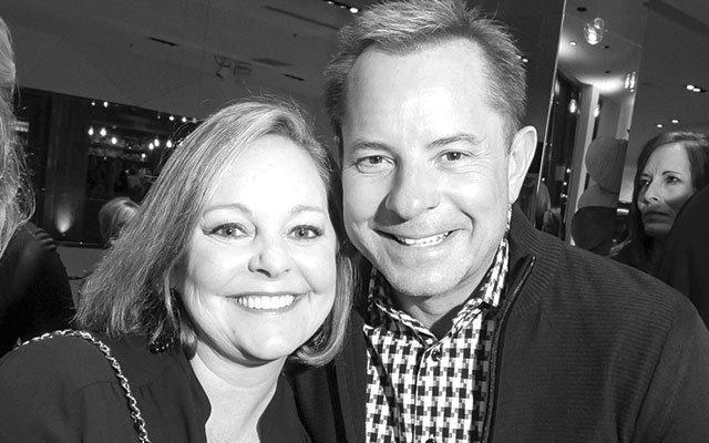 Todd Walker and Ann Burbidge at the Bullfrog Bash
