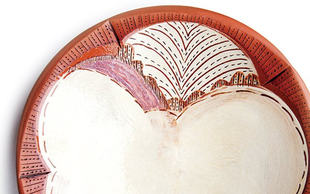 Victoria Dawes' ceramic bowl