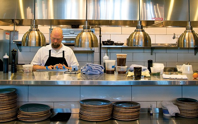 Coup d'Etat kitchen