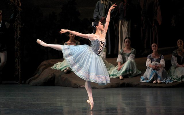 Giselle as performed by the American Ballet Theatre