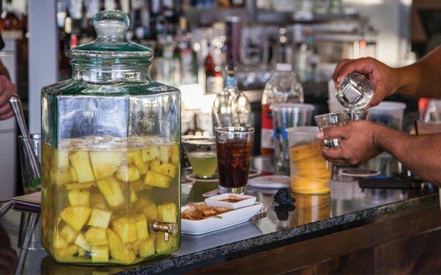 Pineapple-infused Vodka