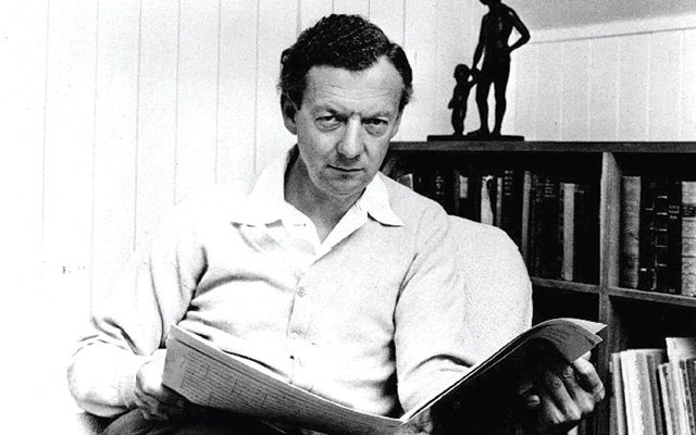 Benjamin Britten in the mid-1960s