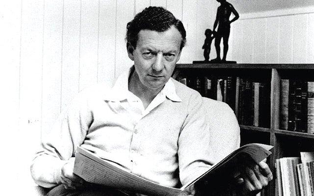 Benjamin Britten in the mid-1960s