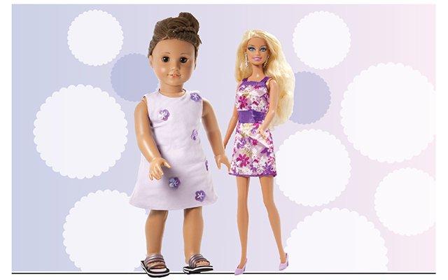 American Girl Doll versus Barbie