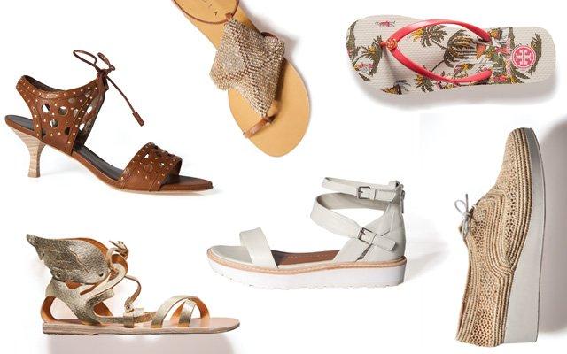 Summer Sandal collage