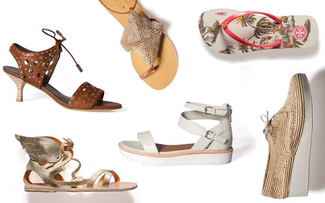 Summer Sandal collage
