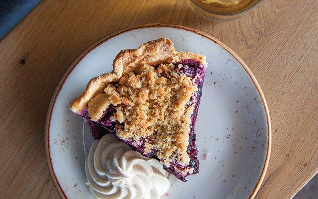 Pie at BoneYard Uptown