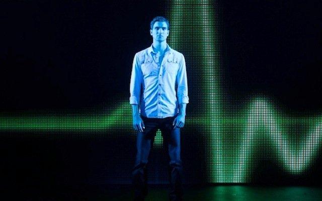 Steven Grant Douglas as Sam Wheat in Ghost: The Musical