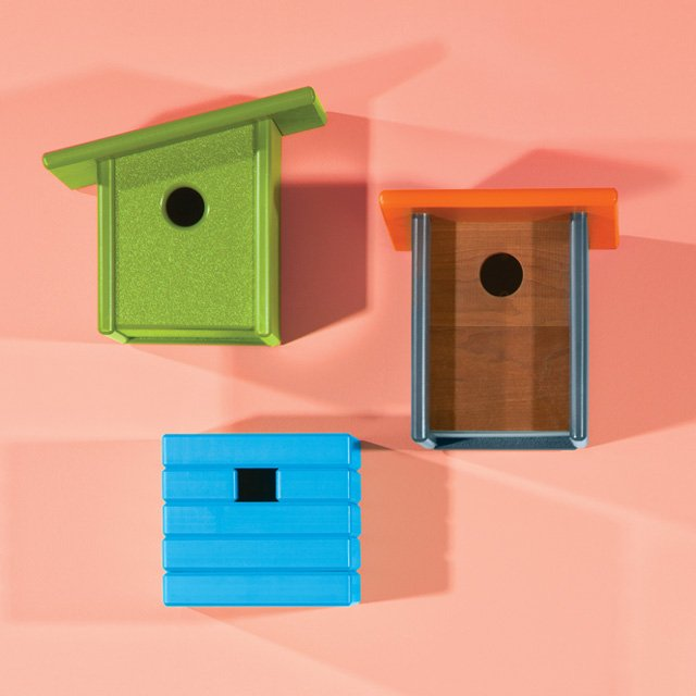 Loll Designs birdhouses