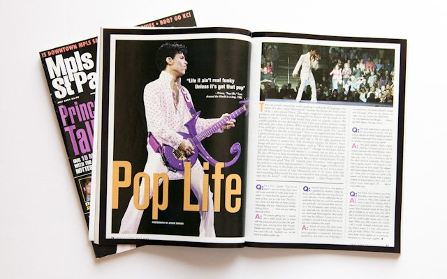 Prince magazine article from Mpls.St.Paul Magazine