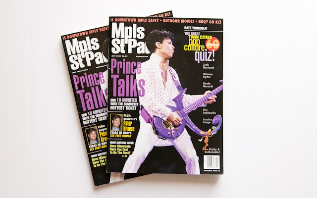 Mpls.St.Paul Magazine 2004 Prince Cover