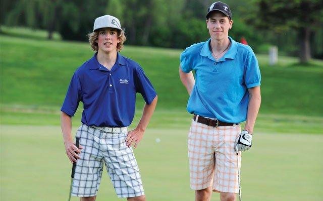 Kids golfing at Braemar