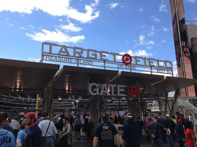 All-Star Game 2014 at Target Field in Minneapolis, Minnesota.