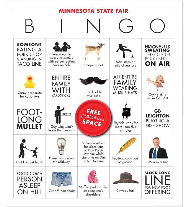 State Fair Bingo