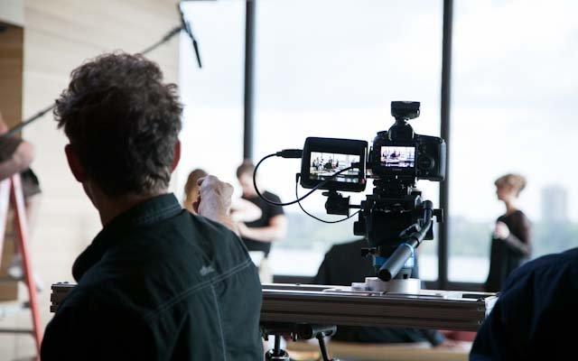 Rob Perez directing the Minneapolis sitcom West Lake.