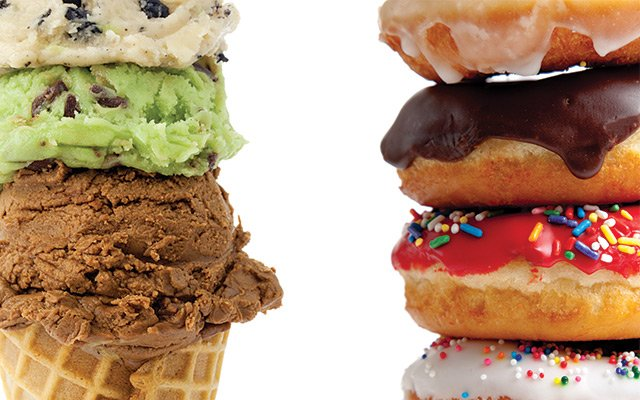 Ice Cream and Donuts