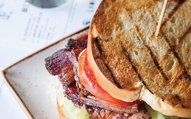 Sandwich at Libertine