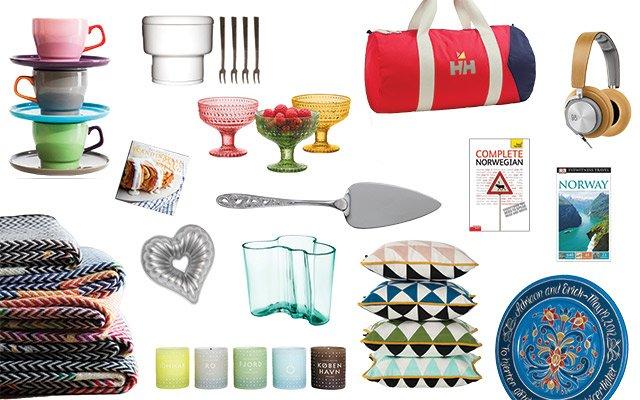 Scandinavian wedding gift ideas