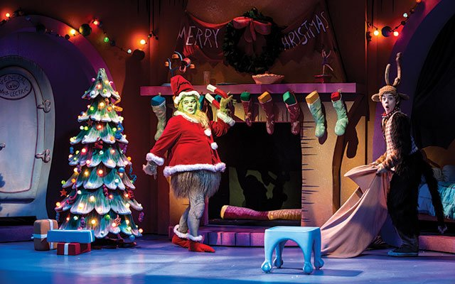 How the Grinch Stole Christmas at Children's Theatre