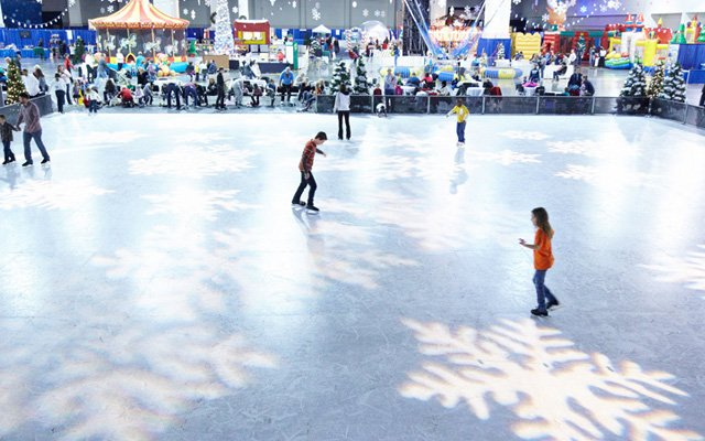 Ice Rink at Minneapolis Holidazzle Village